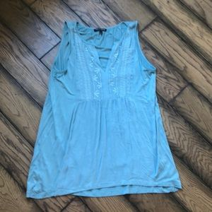 Cable and Gauge Sleeveless Blouse